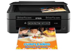 Epson XP-201 manual impresora