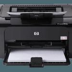 HP Laserjet P1102w Manual de impresora. Guía de instalación inicial